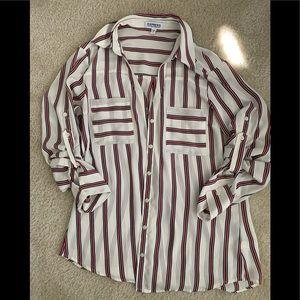 Express Portofino button down shirt